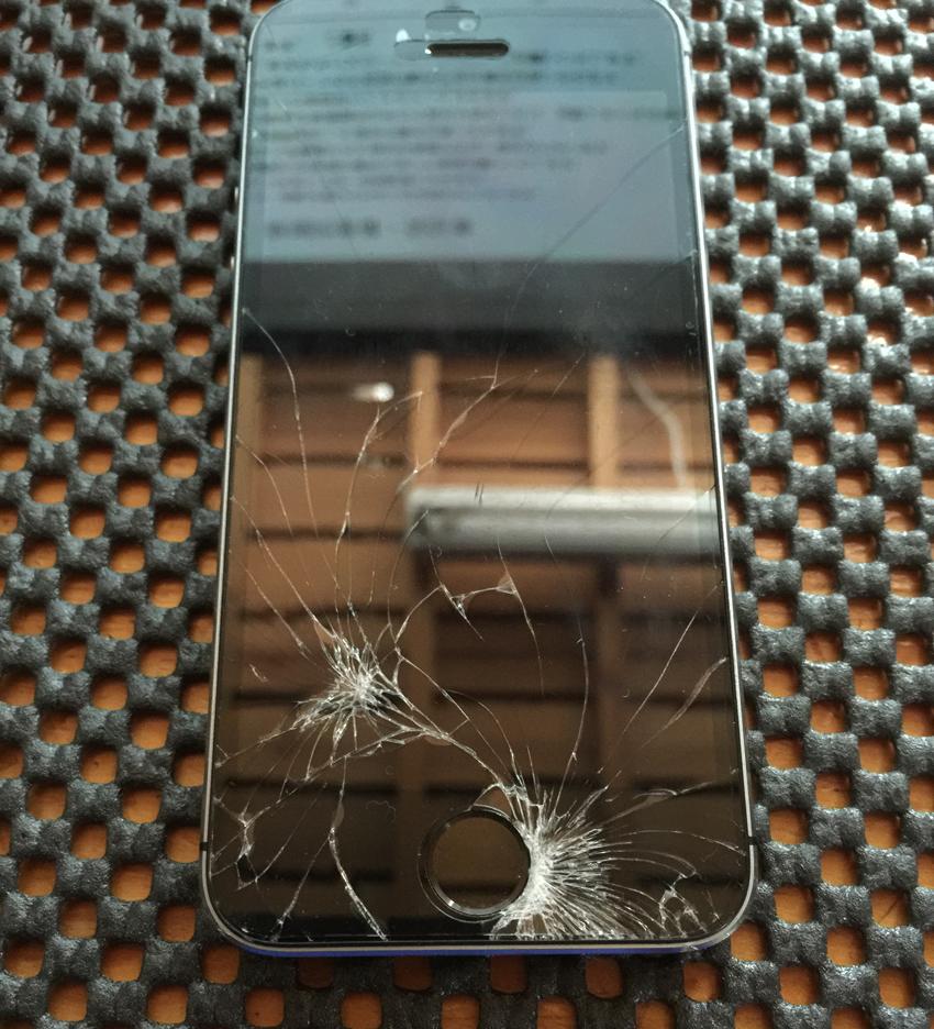 iPhone修理 iPhone5S ガラス・タッチパネル交換