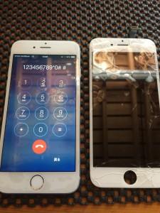 iPhone修理 iPhone6 画面割れ修理
